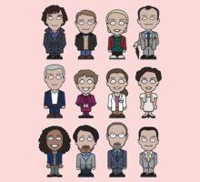 Sherlock and Friends mini people (shirt) Kids Tee