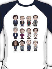 Sherlock and Friends mini people (shirt) T-Shirt