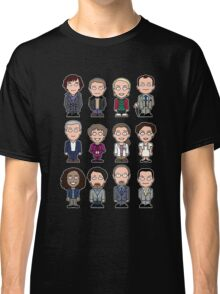 Sherlock and Friends mini people (shirt) Classic T-Shirt