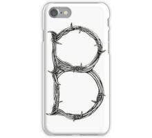 Barbed Wire B iPhone Case/Skin