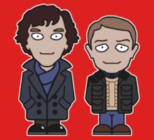 Sherlock and John mini people (shirt) Kids Clothes