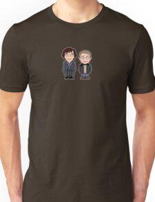 Sherlock and John mini people (shirt) Unisex T-Shirt
