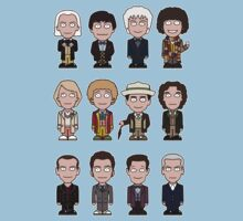 The Twelve Doctors (shirt) Baby Tee