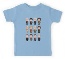 The Twelve Doctors (shirt) Kids Tee