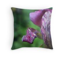 wet wilted Throw Pillow