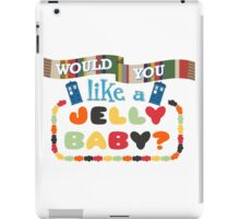 Doctor Who Typography - Jelly Baby iPad Case/Skin