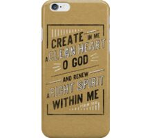 Clean Heart iPhone Case/Skin