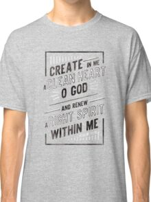 Clean Heart Classic T-Shirt