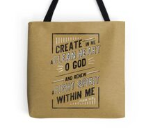 Clean Heart Tote Bag
