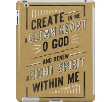 Clean Heart iPad Case/Skin