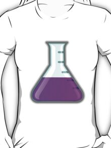 Cartoon Science Beaker T-Shirt
