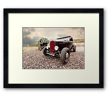 Big gun  Framed Print