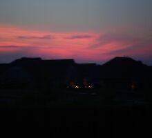 Sunset by Christina Reid