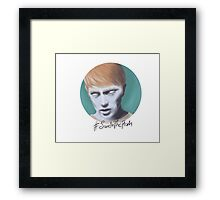 Save In The Flesh Framed Print