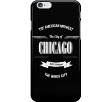 Chicago - The Vintage Windy City Typography Skin Mug iPhone Case/Skin