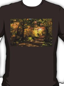 Autumn Road Impressions T-Shirt
