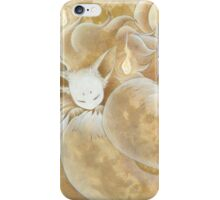 Sleeping Ninetails - Kitsune Fox Yokai iPhone Case/Skin