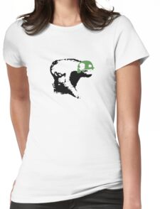Honey Badger? Womens Fitted T-Shirt