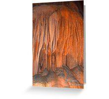 "Bouquet,     ""Caverns Series""       Photographer A. Frances Greeting Card"