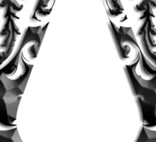 Deadric Script Assasin's Creed Logo Sticker