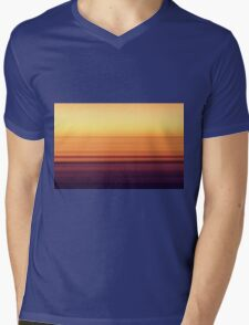 North Sea in sunset colors Mens V-Neck T-Shirt