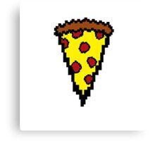 Pixel Pizza  Canvas Print
