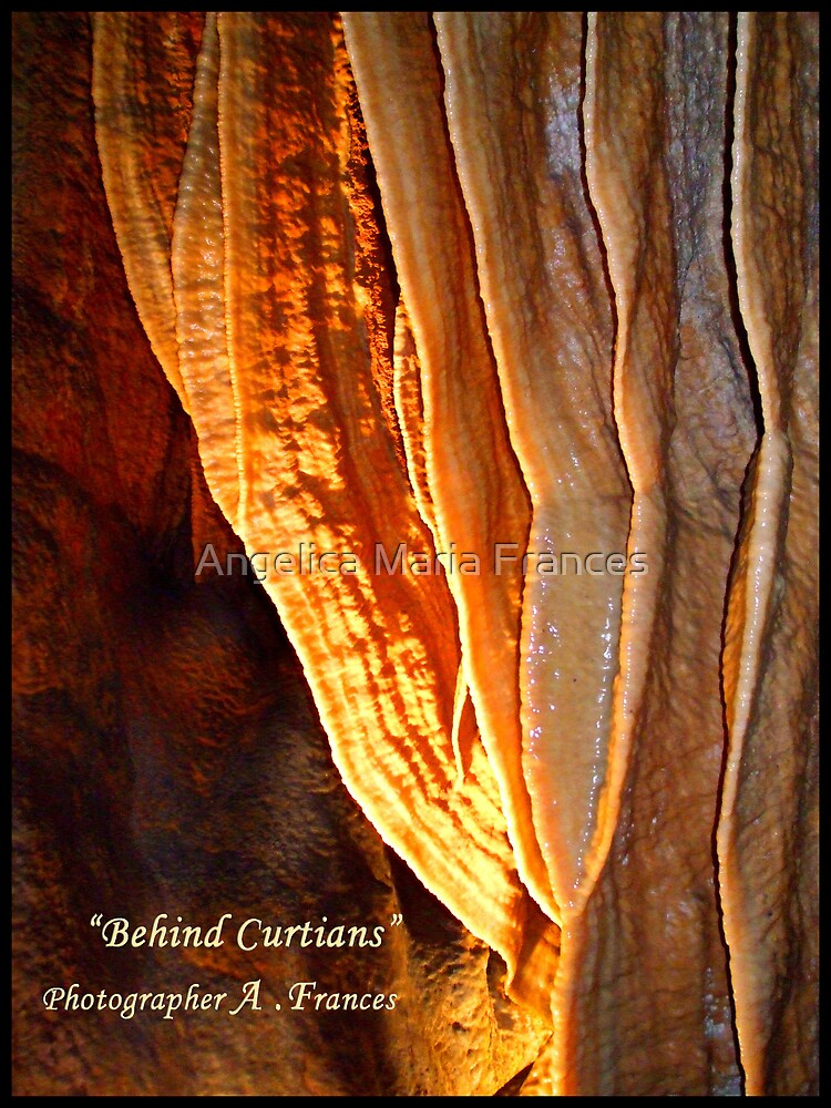 """Behind Curtians   """"Caverns Series"""" by Angelica Frances"""