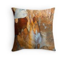 100 FEET BELOW Throw Pillow