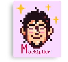 Pixel Markiplier Canvas Print
