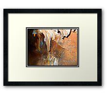 Dragons Teeth Framed Print