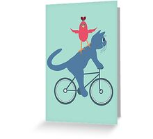 Three On A Bike - Ta Da! Greeting Card