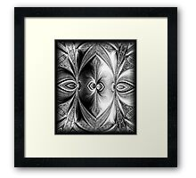 Abstract Feathers. Framed Print