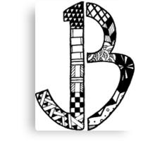 JB Logo Canvas Print