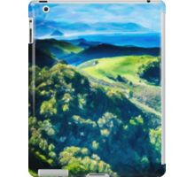 Green Rolling Hills to the Sea iPad Case/Skin