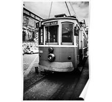 The No.1 Tram in Porto Poster