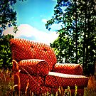 happy chair by A.R. Williams