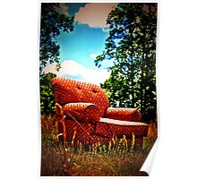 happy chair Poster