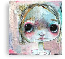 Something big eyed this way comes Canvas Print