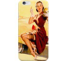 Gil Elvgren Pin up iPhone Case/Skin