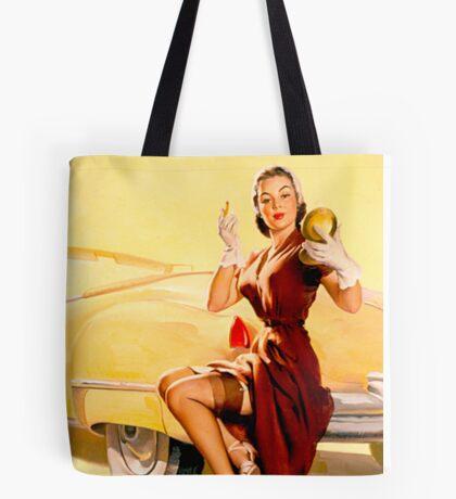 Gil Elvgren Pin up Tote Bag