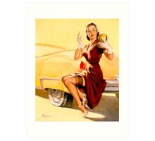 Gil Elvgren Pin up Art Print