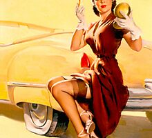Gil Elvgren Pin up by RookieRomance