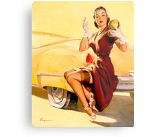 Gil Elvgren Pin up Metal Print