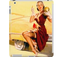 Gil Elvgren Pin up iPad Case/Skin