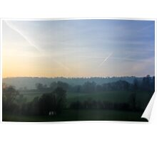 Hazy England Afternoons II Poster