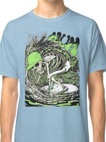 SURFER SKULL GREEN Classic T-Shirt