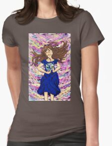 World of color w/o ribbon Womens Fitted T-Shirt