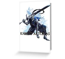 Artorias out of the abyss! - Knight Artorias Text Greeting Card