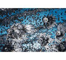 Impact #4 - Blue Photographic Print