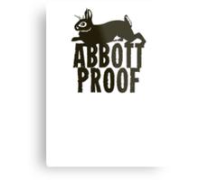 Abbott Proof Metal Print